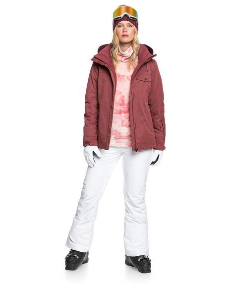 OXBLOOD RED BOARDSPORTS SNOW ROXY WOMENS - ERJTJ03283-RRE0
