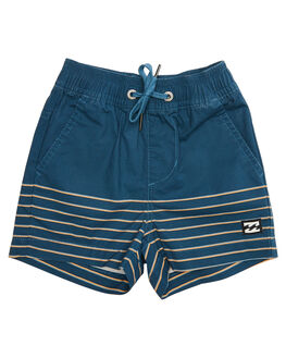 WASHED BLUE KIDS TODDLER BOYS BILLABONG SHORTS - 7581704WBLU