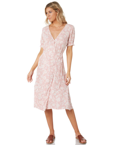 LOVERS FLORAL WOMENS CLOTHING THE HIDDEN WAY DRESSES - H8202444LOVFL