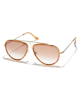 GLITTER WOOD WOMENS ACCESSORIES VIEUX EYEWEAR SUNGLASSES - VX005BGLTR