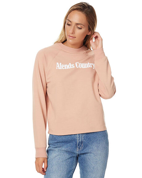 BLUSH WOMENS CLOTHING AFENDS JUMPERS - 55-03-038BLUS