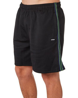 BLACK MENS CLOTHING STUSSY SHORTS - ST083614BLK