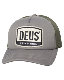 MOSS MENS ACCESSORIES DEUS EX MACHINA HEADWEAR - DMP87096MOSS
