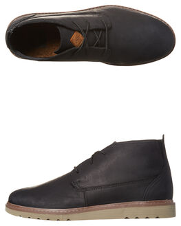 BLACK MENS FOOTWEAR REEF BOOTS - A3627BLA