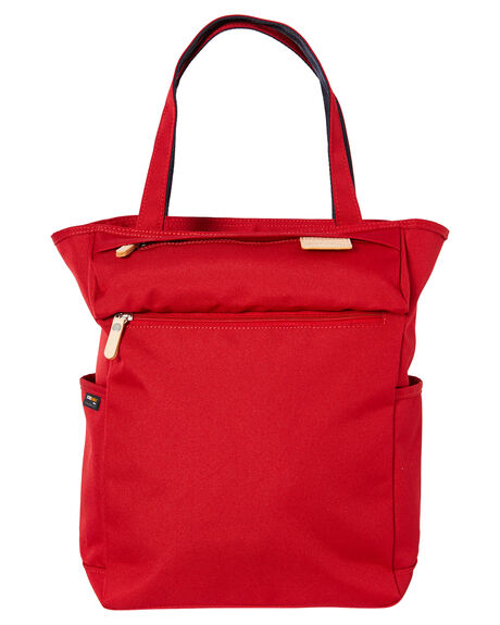 RED MENS ACCESSORIES HARVEST LABEL BAGS + BACKPACKS - HLO0952-RED