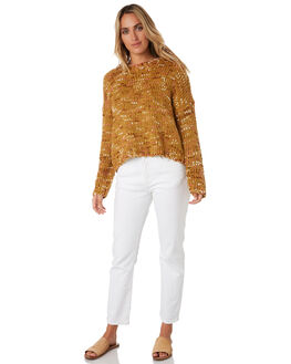 MUSTARD WOMENS CLOTHING RIP CURL KNITS + CARDIGANS - GSWHH11041