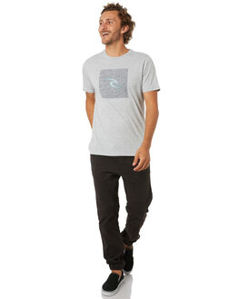 GREY MARLE MENS CLOTHING RIP CURL TEES - CTESD20085