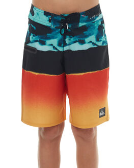 MOROCCAN BLUE KIDS BOYS QUIKSILVER BOARDSHORTS - EQBBS03178BSG6