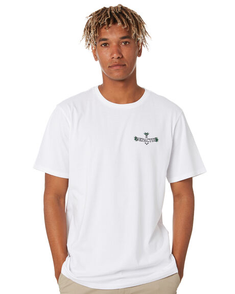 WHITE MENS CLOTHING DEPACTUS TEES - D5202012WHITE