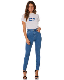 FRENCH BLUE WOMENS CLOTHING ROLLAS JEANS - 12996-1676