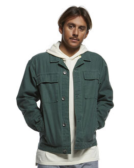 GARDEN TOPIARY MENS CLOTHING QUIKSILVER JACKETS - EQYJK03517-GRT0