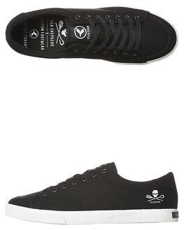 BLACK WHITE MENS FOOTWEAR KUSTOM SNEAKERS - 4981115UBKWH