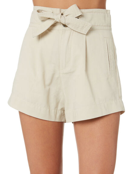 BEIGE WOMENS CLOTHING THE HIDDEN WAY SHORTS - H8203231BEIGE