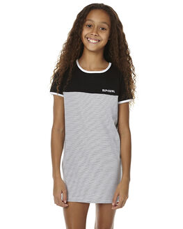 BLACK KIDS GIRLS RIP CURL DRESSES - JDRAS10090