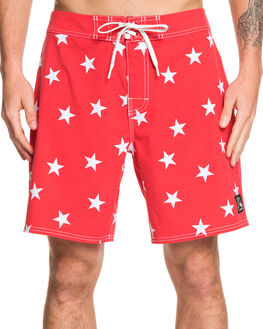 QUIK RED MENS CLOTHING QUIKSILVER BOARDSHORTS - EQYBS04142-RQR0