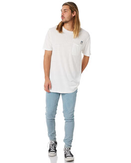 WHITE MENS CLOTHING AFENDS TEES - M183021WHT