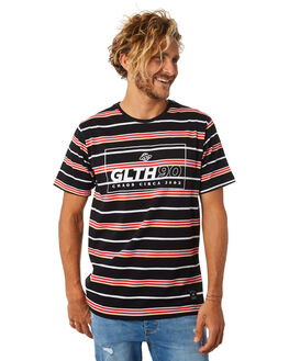 BLACK MENS CLOTHING ST GOLIATH TEES - 4320042BLK