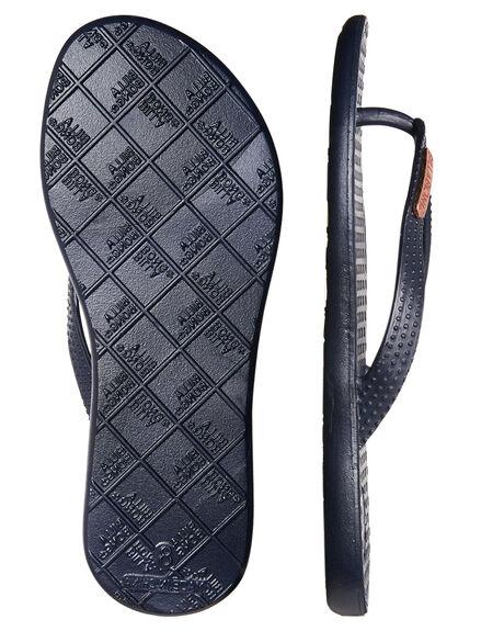 PEACOAT WOMENS FOOTWEAR BILLABONG THONGS - 6671802PEA