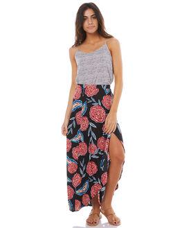 MALLOW WATER DOTS WOMENS CLOTHING ROXY FASHION TOPS - ERJWT03174XWWK