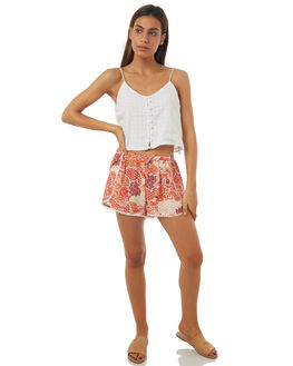 SUMMER ROMANCE WOMENS CLOTHING ALL ABOUT EVE SHORTS - 6401072PRNT
