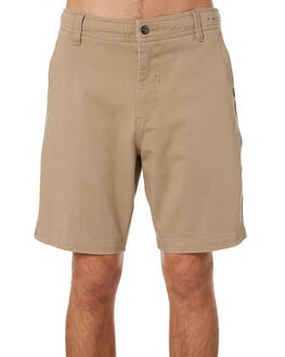 DARK KHAKI MENS CLOTHING RIP CURL SHORTS - CWAAY99660
