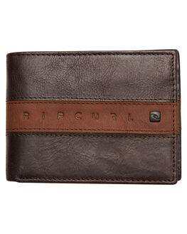 BROWN MENS ACCESSORIES RIP CURL WALLETS - BWLLD10009
