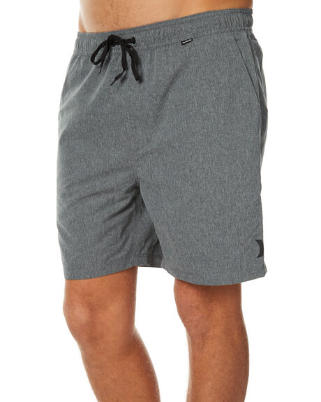 BLACK MENS CLOTHING HURLEY BOARDSHORTS - MBS000760000A