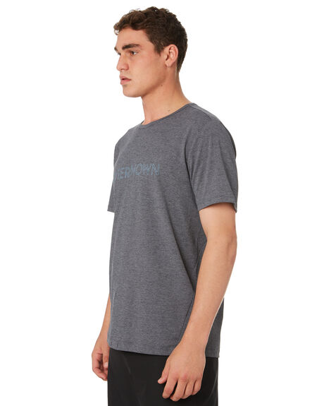 CHARCOAL HEATHER OUTLET MENS OUTERKNOWN TEES - 1290005CHH