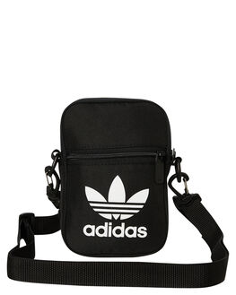 BLACK MENS ACCESSORIES ADIDAS BAGS + BACKPACKS - EI7411BLK