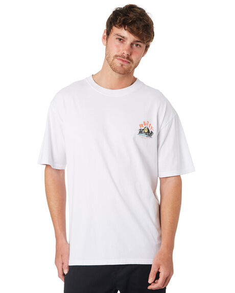 WHITE MENS CLOTHING RUSTY TEES - TTM2110WHT