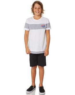 WHITE KIDS BOYS ST GOLIATH TOPS - 2420008WHT