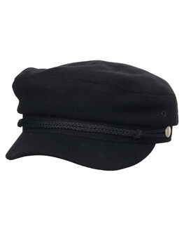 BLACK WOMENS ACCESSORIES RUSTY HEADWEAR - HHL0504BLK