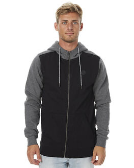 BLACK MENS CLOTHING VOLCOM JUMPERS - A4811707BLK