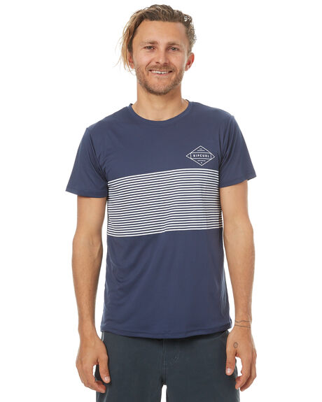 NAVY OUTLET BOARDSPORTS RIP CURL RASHVESTS - WLY7CM0049