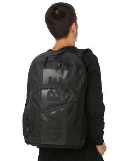 BLACK MENS ACCESSORIES GLOBE BAGS + BACKPACKS - GB71619016BLK