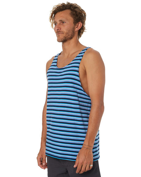 BLUE OUTLET MENS SWELL SINGLETS - S5184279BLUE