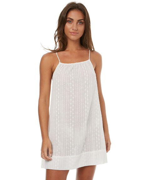 WHITE WOMENS CLOTHING RUSTY DRESSES - SCL0276WHITE