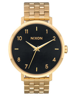 GOLD BLACK SUNRAY UNISEX ADULTS NIXON WATCHES - A10902042