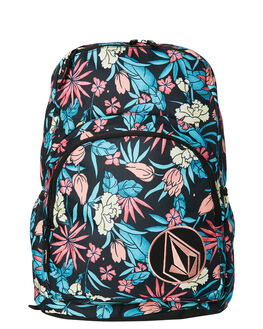 BLACK COMBO WOMENS ACCESSORIES VOLCOM BAGS + BACKPACKS - E6531875BLC