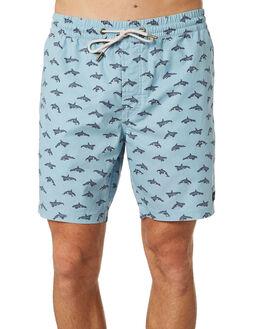 AQUA ORCA MENS CLOTHING BARNEY COOLS BOARDSHORTS - 801-CC2AQORC