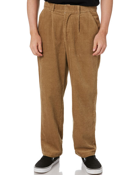 TAUPE MENS CLOTHING STUSSY PANTS - ST001608TAUPE