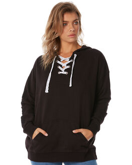 BLACK WOMENS CLOTHING BILLABONG JUMPERS - 6585773XBLK