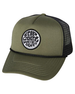 MID GREEN MENS ACCESSORIES RIP CURL HEADWEAR - CCAOG19436
