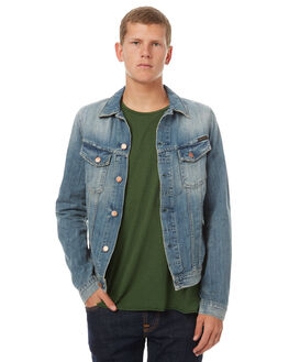 LIGHT SHADES MENS CLOTHING NUDIE JEANS CO JACKETS - 160509B26