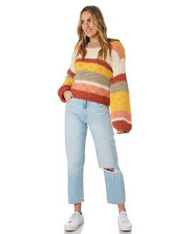 EARTH STRIPE WOMENS CLOTHING O'NEILL KNITS + CARDIGANS - 5921406EST