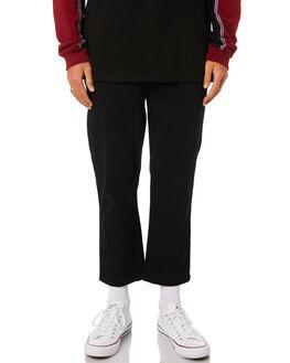 BLACK OUTLET MENS STUSSY PANTS - ST095604BLK