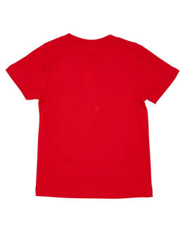 RED KIDS BOYS AS COLOUR TOPS - 3005RED
