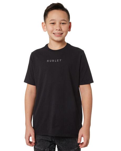 BLACK BLACK KIDS BOYS HURLEY TOPS - BQ1494010