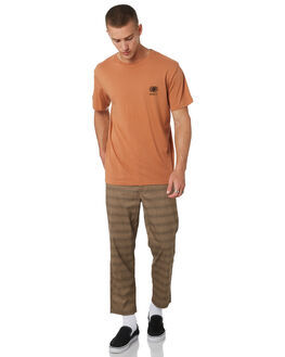 PECAN MENS CLOTHING MISFIT TEES - MT095002PECAN