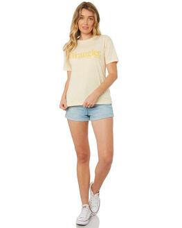 FADED SUN WOMENS CLOTHING WRANGLER TEES - W-951293-Y73